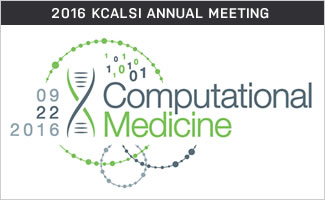 September 22 KCALSI Annual Dinner – Computational Medicine