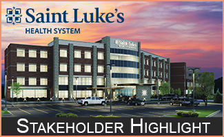 Vol. 1, 2018 Saint Luke's Stakeholder Highlight: Committed to Providing Quality Care, Improving Access