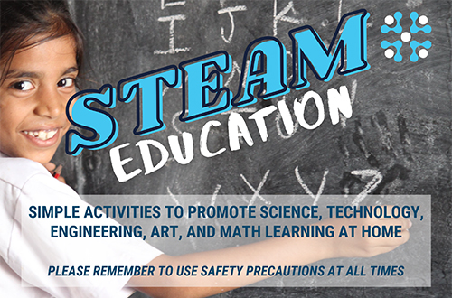 Inspire Curiosity with STEAM Activities At Home